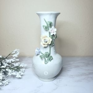 Beautiful Floral Ceramic Vase